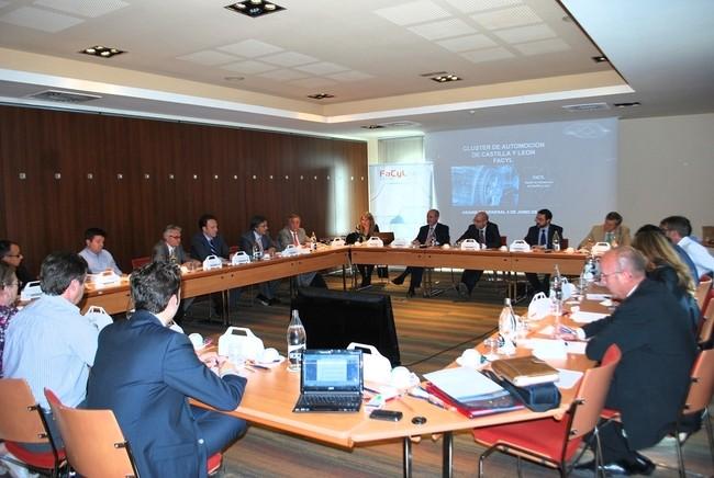 PERSPECTIVAS OPTIMISTAS DE LA AUTOMOCION REGIONAL EN LA XIII ASAMBLEA GENERAL DEL CLUSTER DE AUTOMOCION DE CASTILLA Y LEON (FACYL)