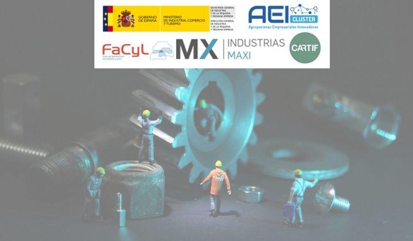La AEI FACYL, la Fundación CARTIF y la empresa Industrias Maxi Desarrollan un Proyecto de Investigación Industrial 4.0 Aplicado en el Mantenimiento Predictivo