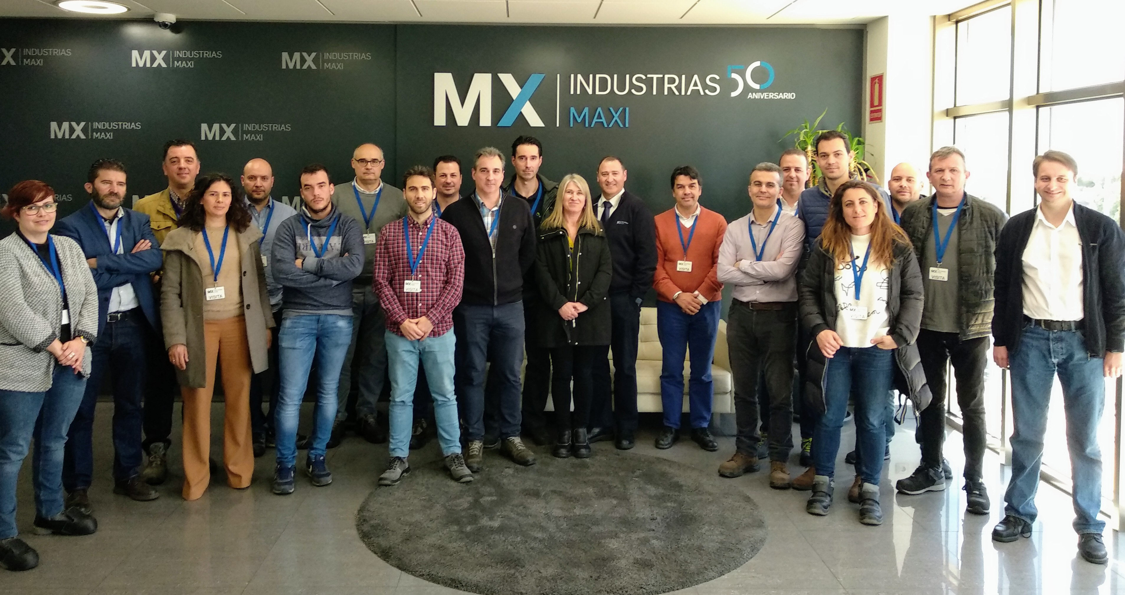 Industrias Maxi presenta a los Socios de Cluster  FACYL una Buena Práctica de Mantenimiento 4.0