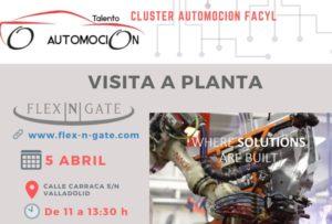 Flex N Gate organiza una Visita a su planta de Valladolid