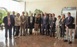 Consejo Rector de Cluster FACYL visita Showroom y Concept Car Grupo Antolin