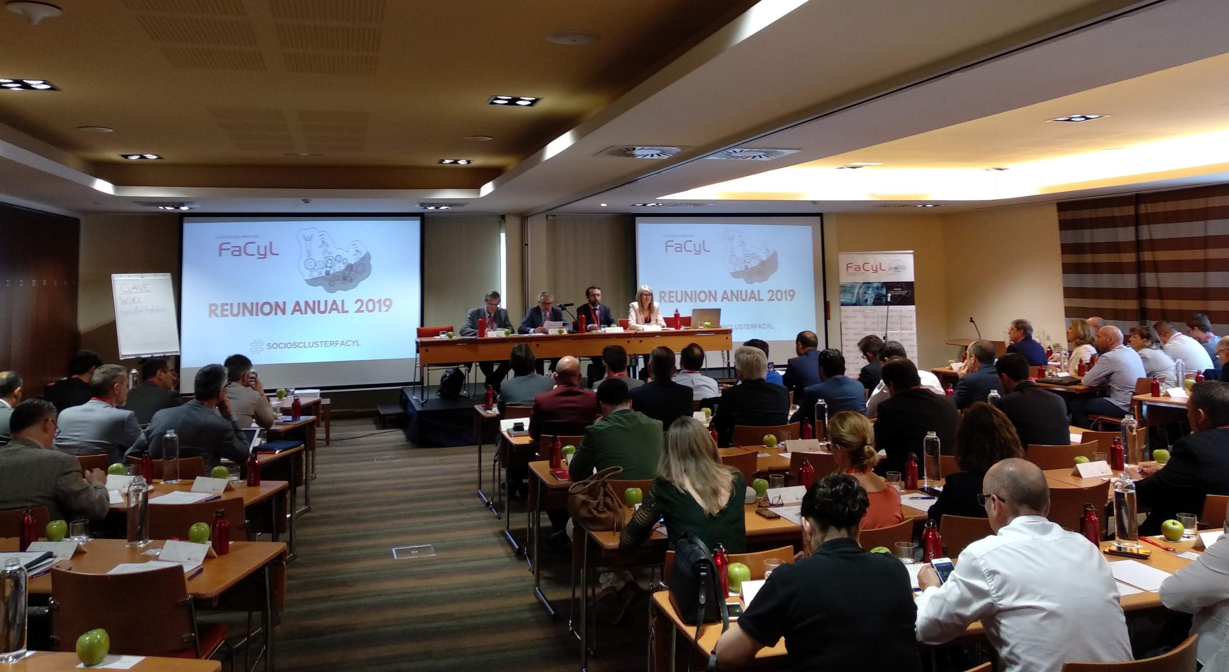El Cluster de Automocion de Castilla y Leon reune al Sector Regional en la Asamblea de FACYL