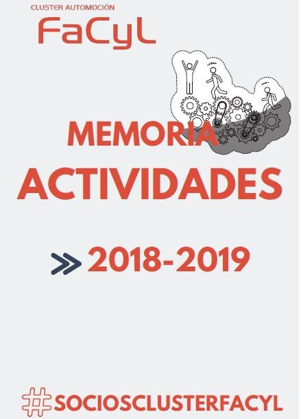 Memoria de Actividades Cluster Automoción FACYL 2018-2019