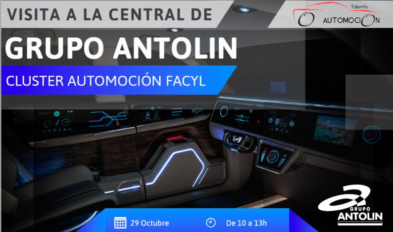 Grupo Antolin organiza una Visita a su Central para Alumnos de la Universidad de León