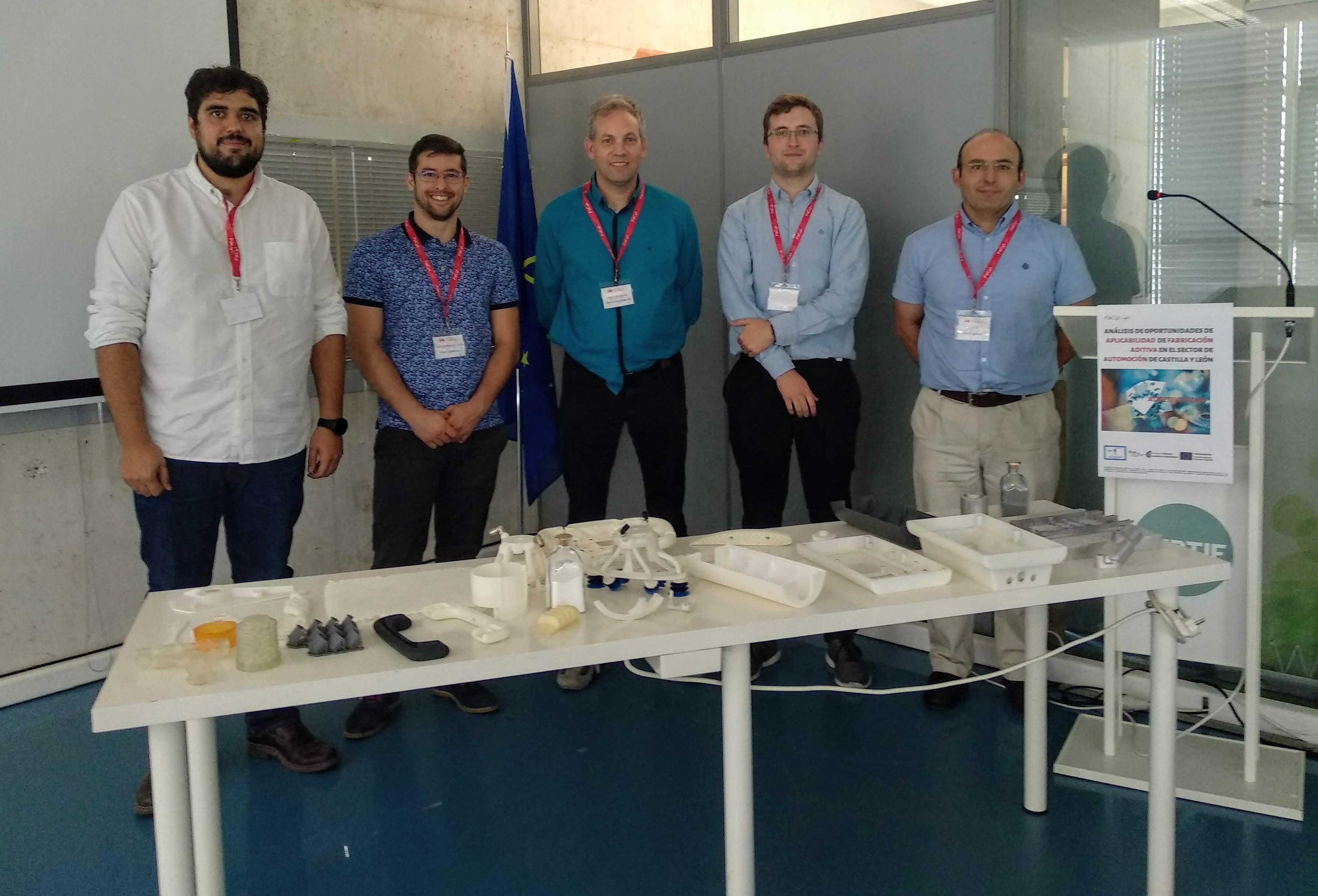 Cluster FACYL continúa explorando oportunidades de aplicación de la Fabricación Aditiva en el Sector de Automoción