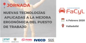Jornada Tecnologías Aplicadas a la Mejora Ergonómica del Puesto de Trabajo