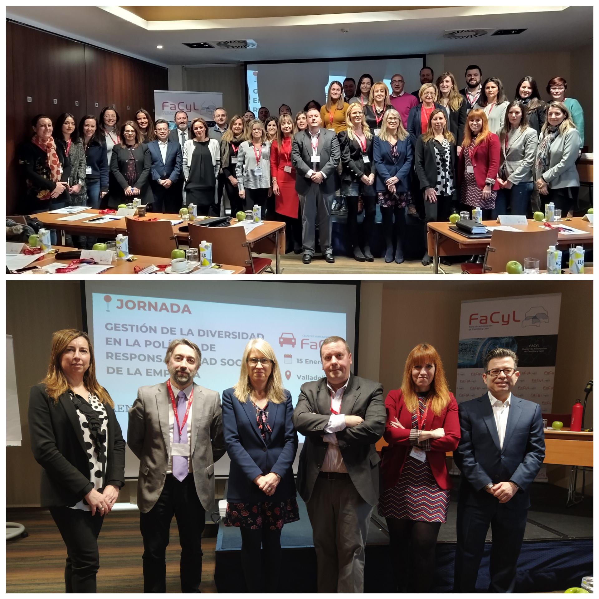 Cluster FACYL reúne a los Responsables de RRHH del Sector Regional de Automoción en una Jornada sobre Responsabilidad Social, Igualdad e Inclusión Laboral