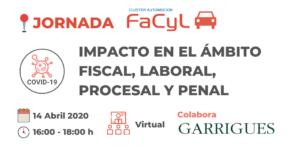 Jornada «COVID-19 Impacto en el Ámbito Fiscal, Laboral, Procesal y Penal»