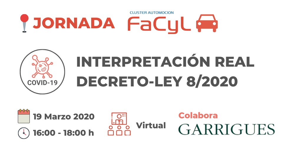 Sesión Virtual Interpretación Real Decreto-Ley 8/2020