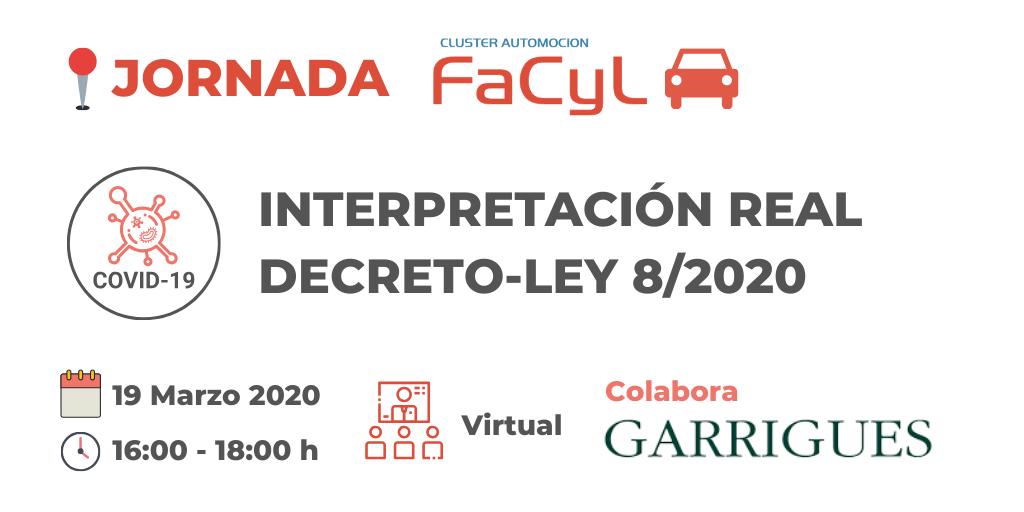 Sesión Virtual Interpretación Real Decreto-Ley 8/2020