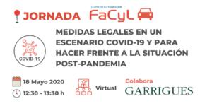 Jornada «Medidas Legales en un Escenario COVID-19 y para hacer frente a la Situación Post Pandemia»