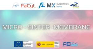 Proyecto MICRO-SINTER-MEMBRANE