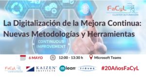 Jornada «La Digitalización de la Mejora Continua: Nuevas Metodologías y Herramientas»