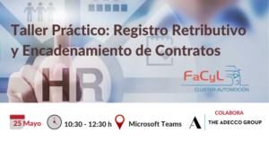 Taller Práctico: Registro Retributivo y Encadenamiento de Contratos