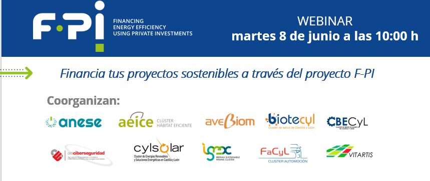 Webinar: Financia tus Proyectos Sostenibles a través del Proyecto F-PI