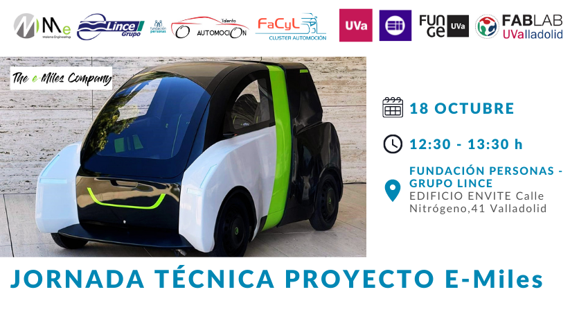 Malena Engineering presenta su proyecto E-Miles a los universitarios de Valladolid